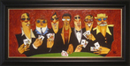 the art of todd white Limited Edition Giclee on Canvas A Shady Table (AP)