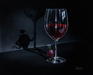 Godard Martini Art Limited Edition Giclee on Canvas She Devil Wine (AP)
