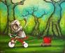 Fabio Napoleoni Limited Edition Giclee on Paper Showering You With Hopes and Wishes (PP)