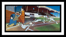 Sports Memorabilia Limited Edition Hand-Painted Cel Yer Out!