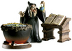 Batman Art Classics Collection Witch with Desk and Cauldron - Evil to the Core