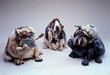 Todd Warner Sculpture Poker Dogs