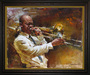 Artist Andrew Limited Edition Giclee on Canvas Solid Brass