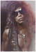 Sebastian Kruger Art Limited Edition on Illustration Board Steven Tyler