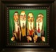 Todd White Original Painting Straight Shooters (Framed) Original