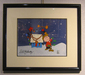Peanuts Art Limited Edition Hand-Painted Cel The Perfect Little Tree