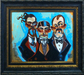 the art of todd white Limited Edition Giclee on Canvas The Unscrupulous - Framed