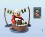 Scrooge McDuck Art Classics Collection Laundry Day Uncle Scrooge